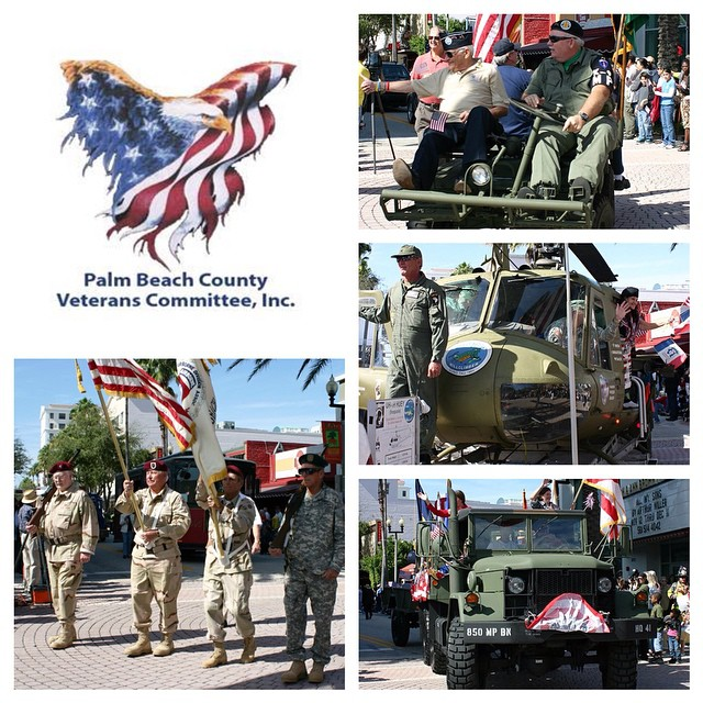 Come support the brave men and women who have fought for our freedom at the 2014 Veterans Day Parade this Sunday, November 9. The parade will run down Clematis Street starting at 2 p.m. #ilovewpb