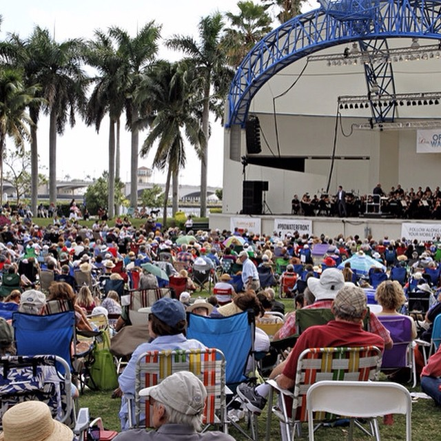 Come enjoy an unforgettable performance by more than 100 musicians and internationally known opera singers with the critically-acclaimed Palm Beach Opera Orchestra and Chorus at Opera at The Waterfront this Saturday. It's open and FREE to the public 2:00pm-3:30pm.