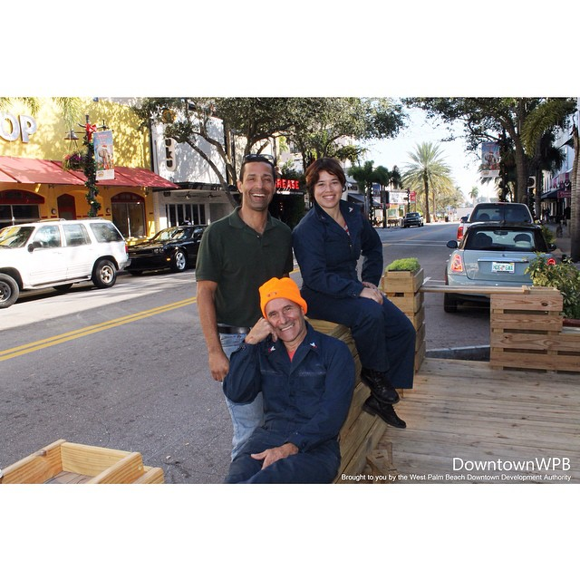 The always popular parklets that have attracted the attention of thousands of local visitors and patrons in the Clematis District during events such as PARK(ing) Day and Continuum are back! Come enjoy this one in front of @roccos_tacos this month before it moves on to its next #DowntownWPB location. #parkletwpb