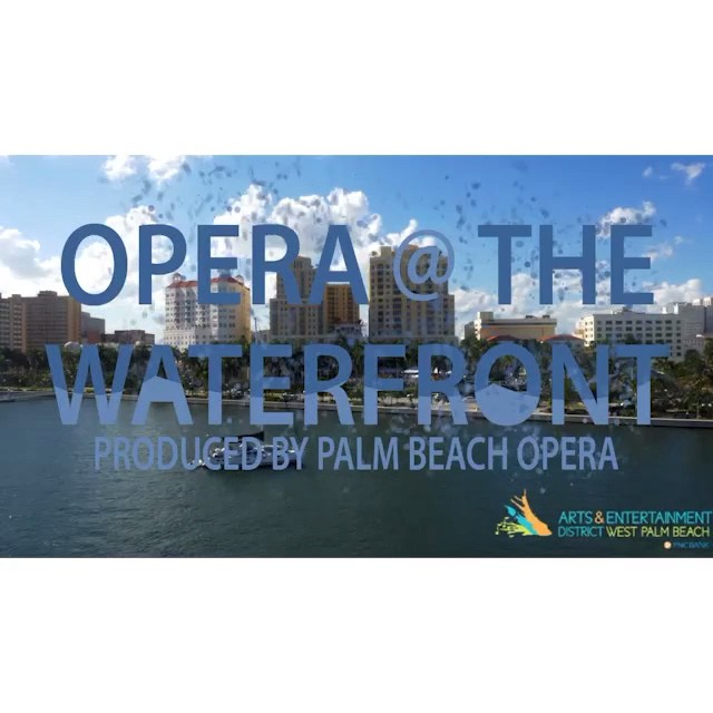 How awesome was it to see Palm Beach Opera perform right at the Meyer Amphitheater last month? We're really excited about partnering with the @wpbaedistrict to bring more events like this to #DowntownWPB. Hopefully you are too!