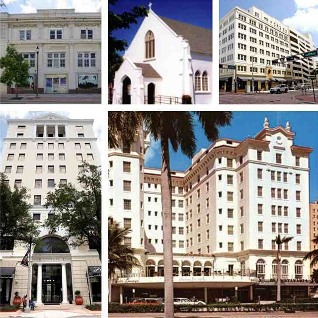 #TBT: Remembering one of the dynamic duos of #DowntownWPB architecture. Harvey and Clarke designed a multitude of downtown buildings during the real estate boom of the 1920's, including some that are still standing today, such as the Comeau Building and the American National Bank Building.  Read more on DowntownWPB.com Blog section.