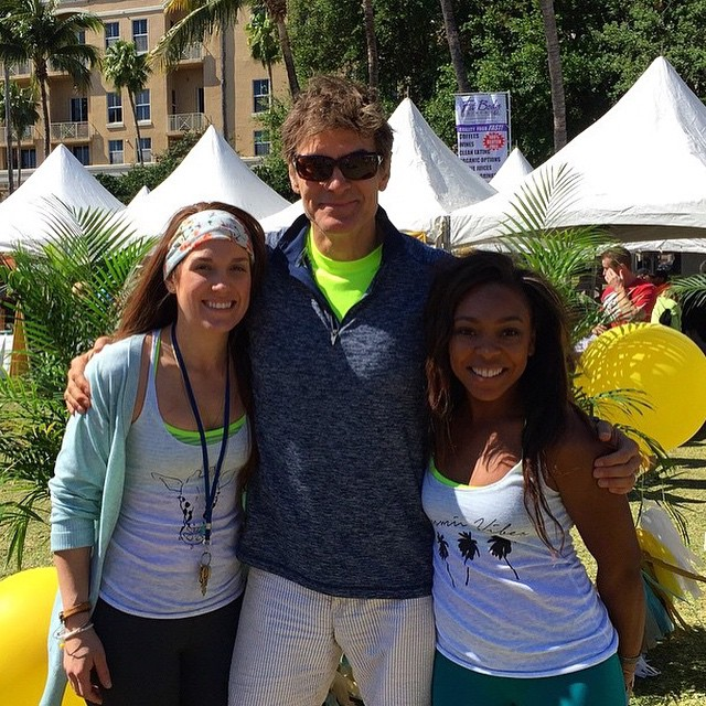 Hey! Are you out showing your body some #love at @freshfest_? Well @dr_oz is? #FreshFest2015 is happening now at the Meyer Amphitheatre until 8pm. #DowntownWPB #iLOVEwpb #soFRESH