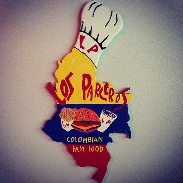 Take a break from cooking tonight and try some Colombian cuisine from @losparceros561 located 106 N. Olive Ave.