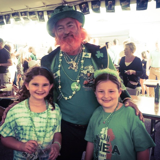 Spotted at @osheaspubwpb ? #StPatricksDay in #DowntownWPB