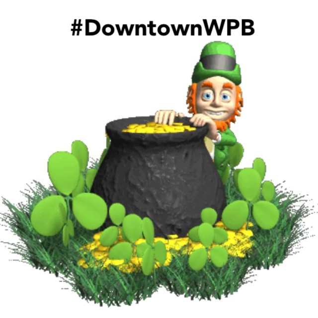 Happy St. Patrick's Day #DowntownWPB! Head over to our Facebook page and find some festive happenings going on today. ? #StPatricksDay #StPaddysDay #ilovewpb