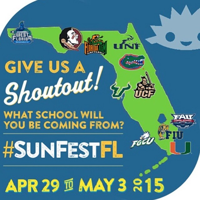 Show us your spirit! Who's coming to the BIGGEST music festival in #DowntownWPB? #SunFestFL #LiveMusic #ilovewpb