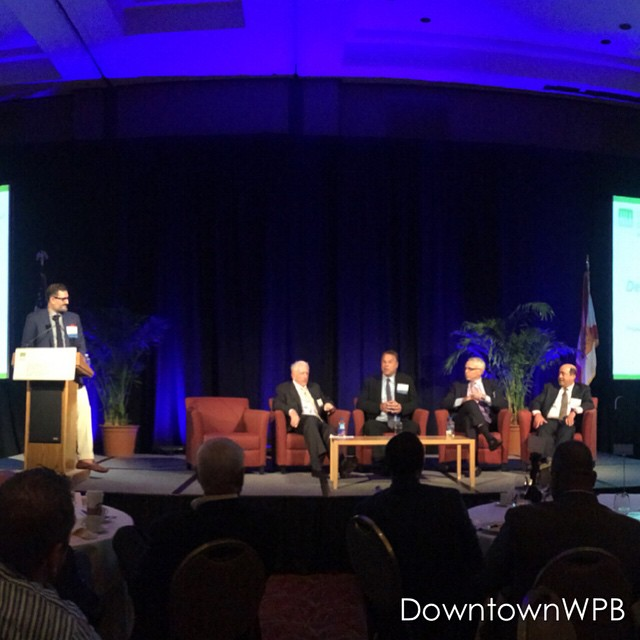Great turnout at today's West Palm Beach Development & Investment Forum. Thanks to @urbanlandinstitute (Southeast FL/Caribbean) for this collaboration and the Chamber of Commerce of the Palm Beaches as the event presenting sponsor. We will keep you updated on video highlights. #wpbULI #DowntownWPB
