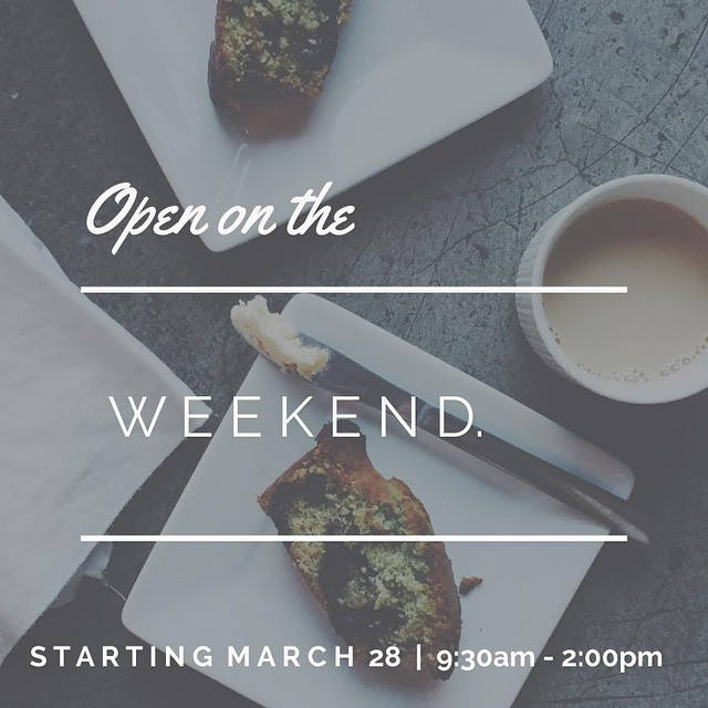 The @a.m.shift located at 410 Evernia St. Suite 107 will start their weekend shift; no pun intended this Saturday, March 28th from 9:30 a.m. – 2 p.m. Enjoy the most important meal of the day at this #DowntownWPB breakfast spot.
