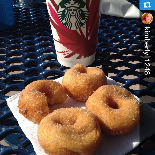 Looks like @kimberly_1248 knows how to start Saturday off right ?☀️ #Repost:
