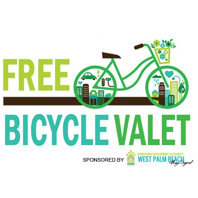 Deciding to bike to #SunFestFL? No problem! Read more on the FREE #SunFestBikeValet on DowntownWPB.com. Also, riders will win a chance to receive @SkyBikeWPB annual passes! ? ? Info: bit.ly/SunFestBikeValet  #DowntownWPB #ilovewpb #gogreen #skybikewpb #wpb #sunfest