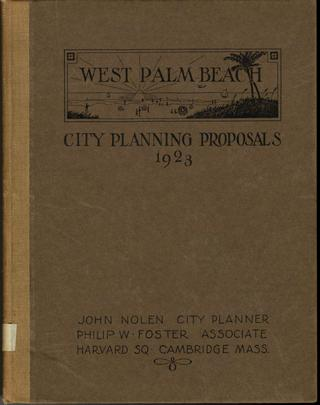 1923 WPB City Planning Proposals 1923