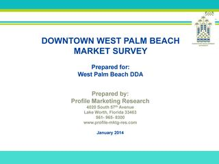 2013 wpb dda market survey