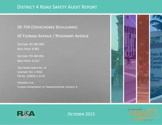 2015 RSA SR-704 Okeechobee Blvd at Rosemary