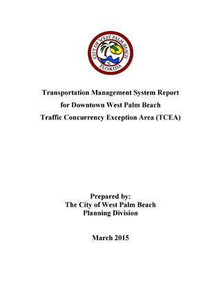 2015 WPB TCEA Report
